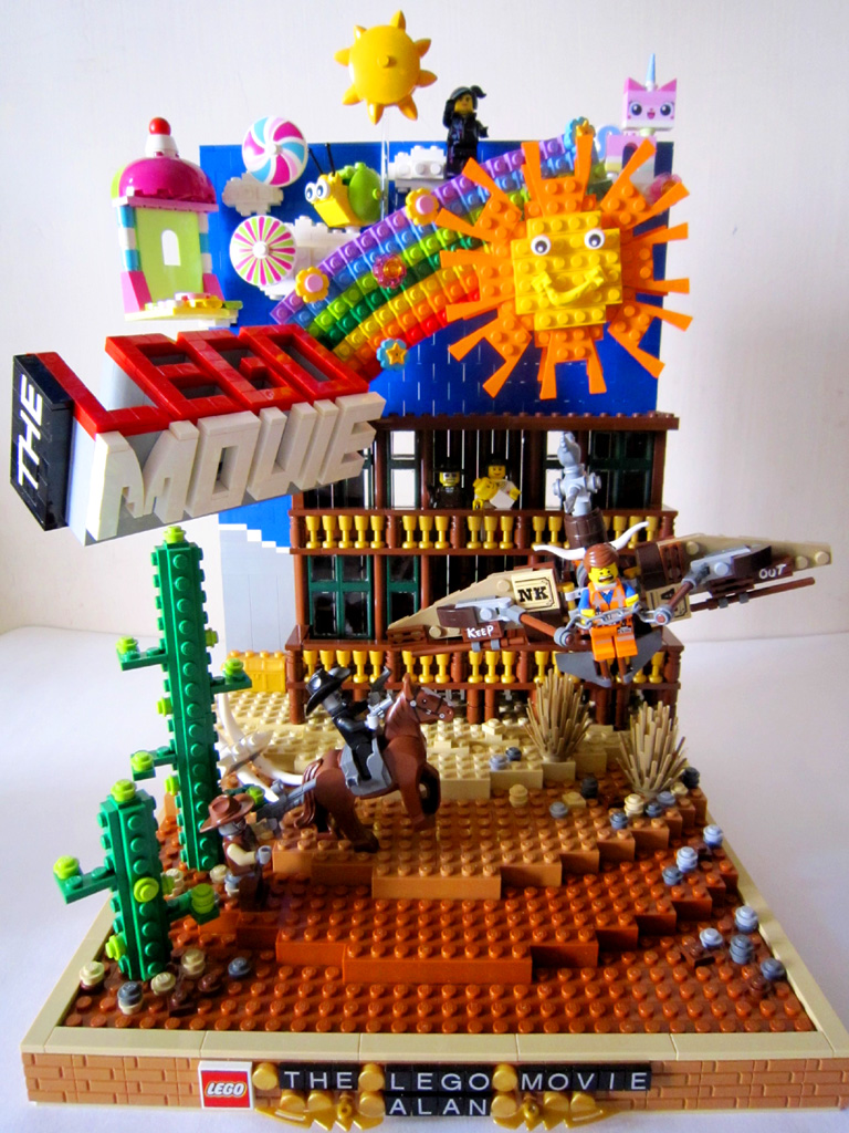 Lego Movie Moc Everything Is Awesome Hi It Is My