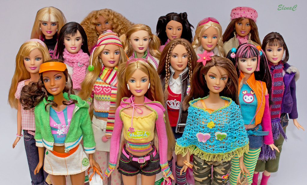 Barbie loves united colors of benetton elec mickred for United colors of benetton usa