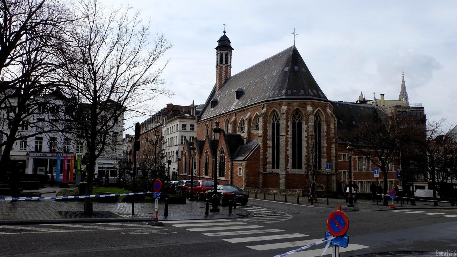 Eglise Sainte Marie-Madeleine, Brussel, Belgium