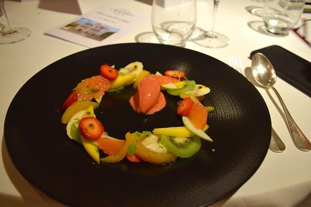 Fruit Salad at Hostellerie de L'Imaginaire | www.rachelphipps.com @rachelphipps