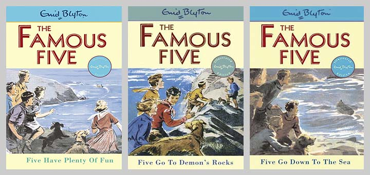 trio of famous five busy covers