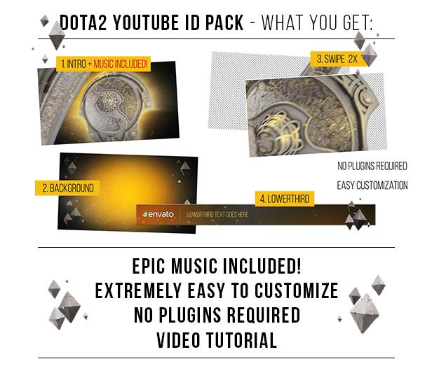 Dota2 YouTube ID Pack