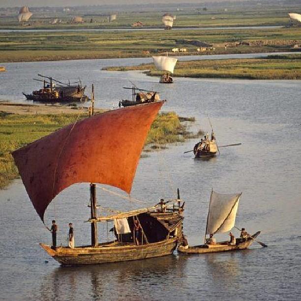 #beautiful #natural #Bangladesh #village #river #Banglades