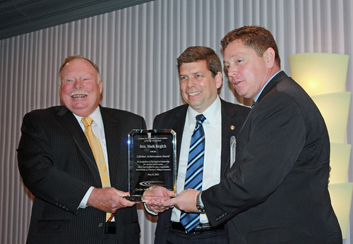Senator Begich receives the Lifetime Achievement Award | by Senator Mark Begich