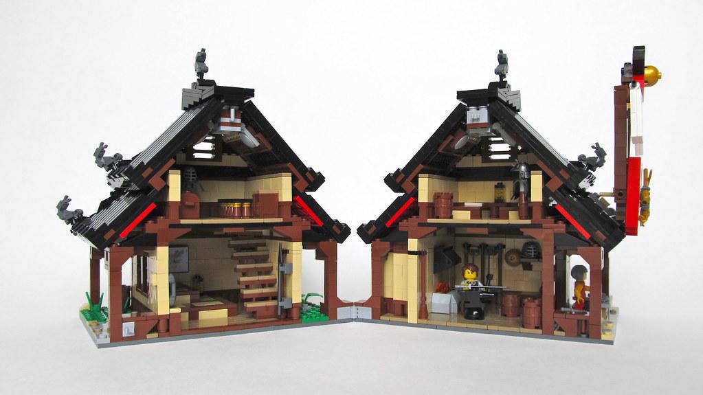 Ninjago Kai S Blacksmith Shop Interior Kai S