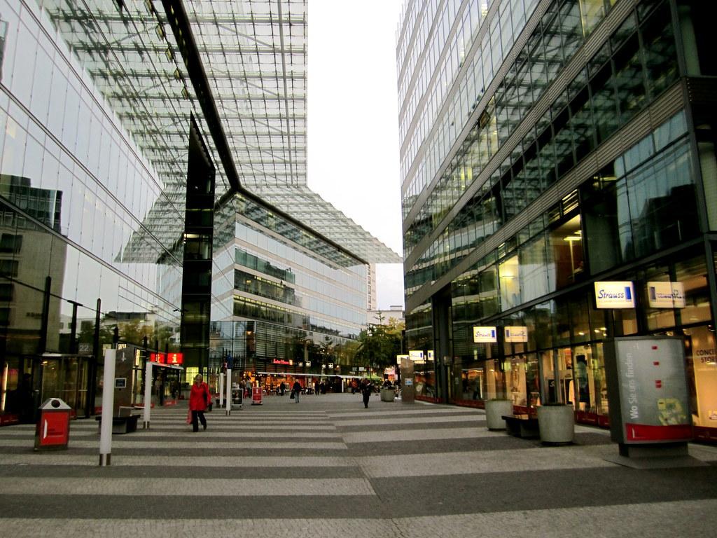 Berlin, commercial architecture La Citta Vita Flickr