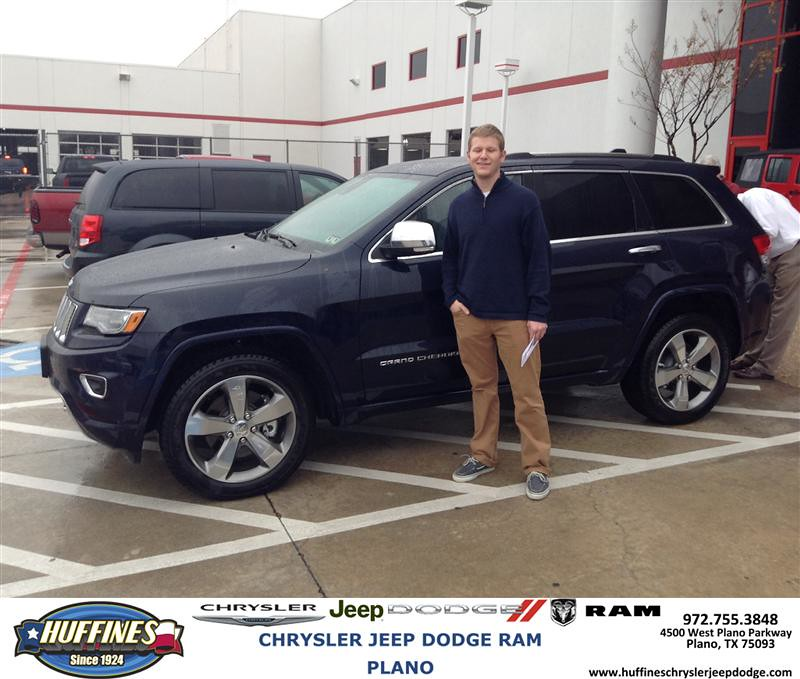 Plano Dodge: Thank You To Matthew Beltz On Your New 2014 #Jeep #Grand C
