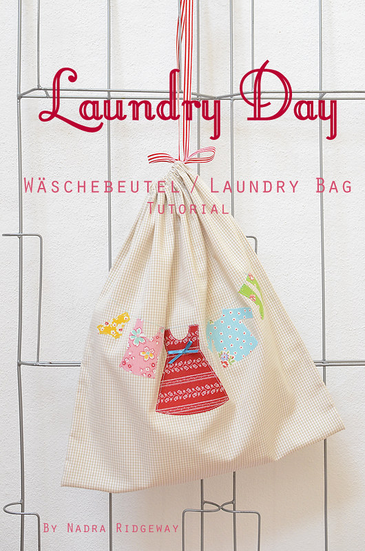 Wäschebeutel / Laundry Bag Tutorial