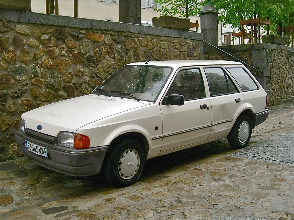 1989 Ford Escort 1 6 Cl Mk Iv Estate The Mk4 Was