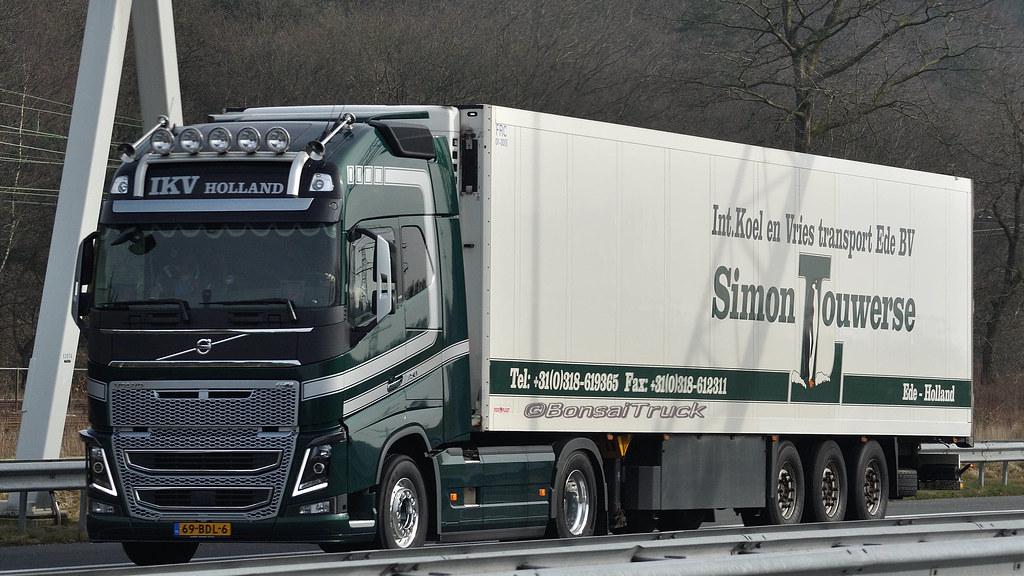 Nl Ikv Simon Louwerse Volvo Fh 16 750 Gl04 Bonsaitruck