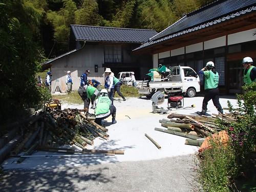 南相馬で災害ボランティア(援人 0603便)