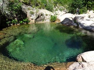 Vasques du Peralzone : la magnifique vasque circulaire