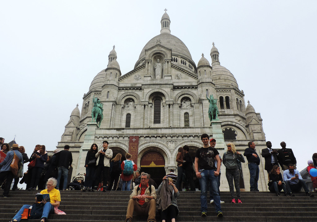 Our First Impressions Of Paris: Sacre-Coeur Basilica, Paris