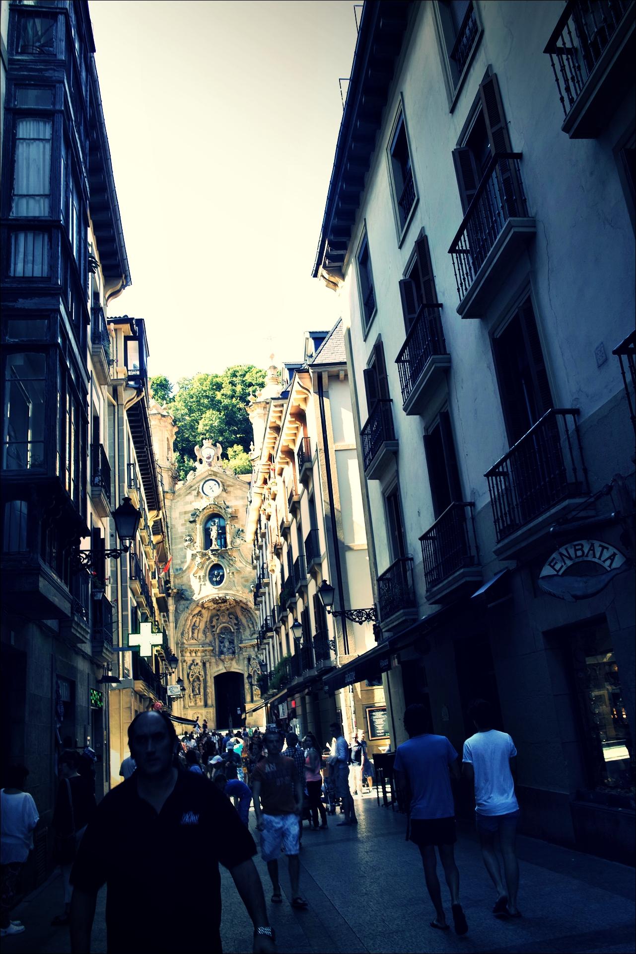 거리-'산세바스티안 San Sebastian, Donostia'