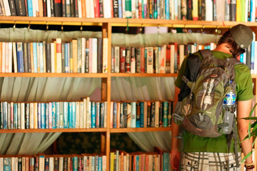Lake Toba Penny's bookshop