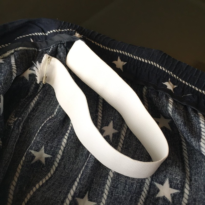 Stars and Stripes Skirt - In Progress