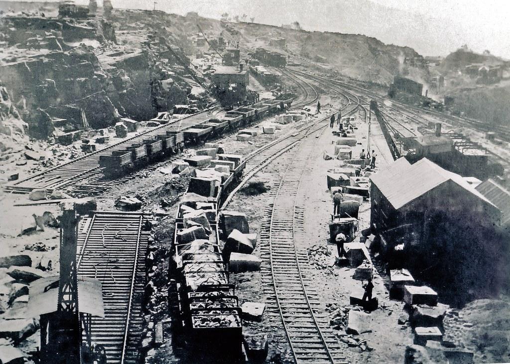 Bolehill Quarry Grindleford Derbyshire About 1910 Peak