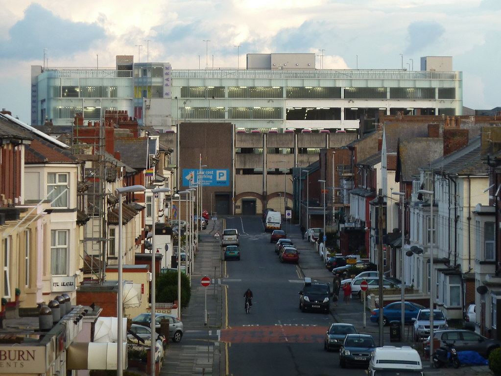 Wilkinsons Car Park Blackpool