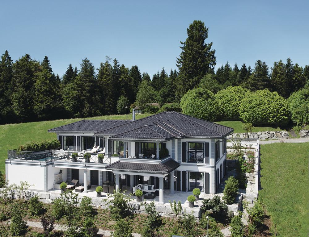 villa am hang weberhaus fertighaus weberhaus flickr. Black Bedroom Furniture Sets. Home Design Ideas