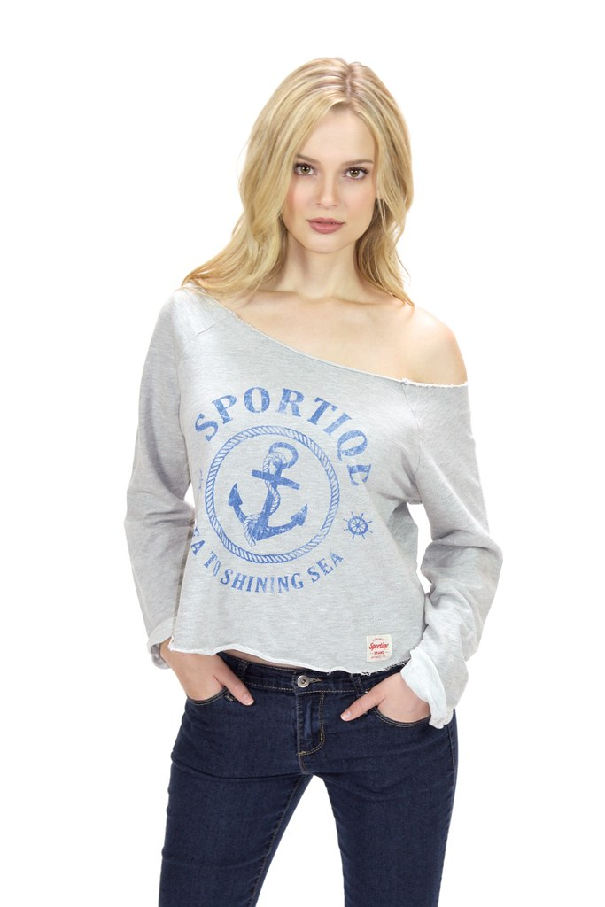 Womens Wide Neck Long Sleeve T Shirt Shop This Womens