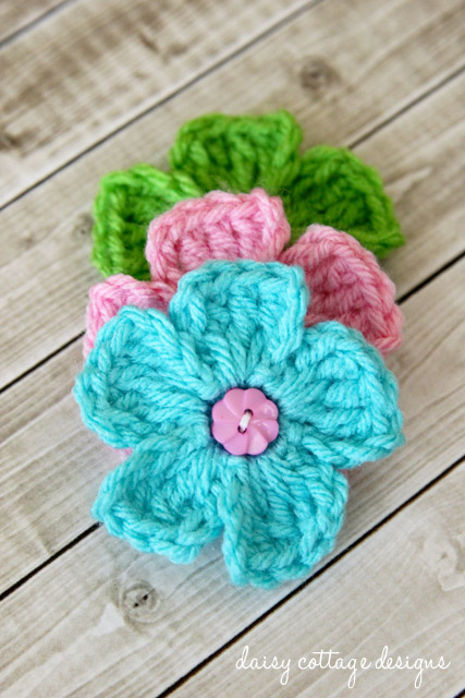 Free Crochet Patterns {Simple Daisy Crochet Pattern} - Daisy Cottage ...
