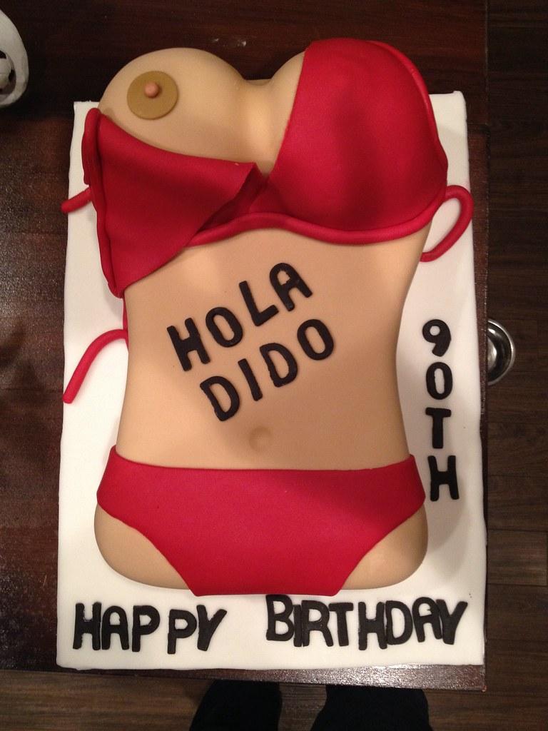 Boobs Birthday Cake