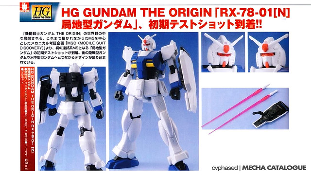 HG Gundam Local Type - Straight Build Preview