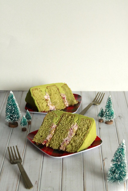 Green Tea Matcha Cake