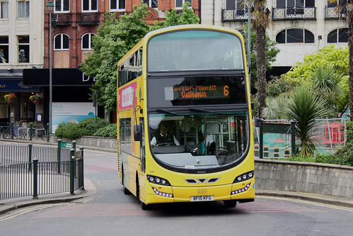 Yellow Buses 196 BF15KFG