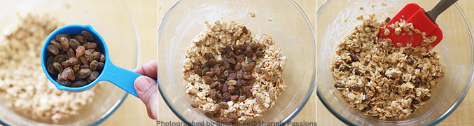 How to make Eggless Oatmeal Raisin Cookies Recipe - Step8