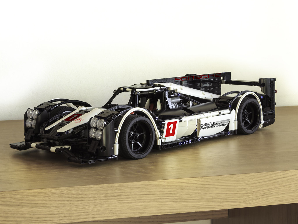 porsche] porsche 919 hybrid - lego technic, mindstorms & model team