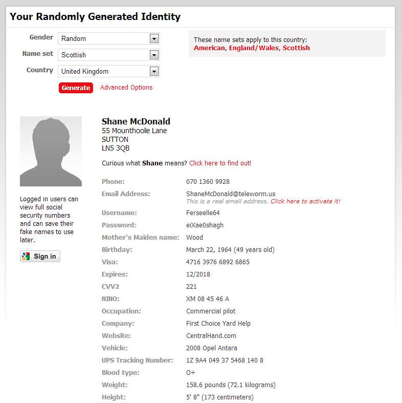 Permalink to Credit Card Generator