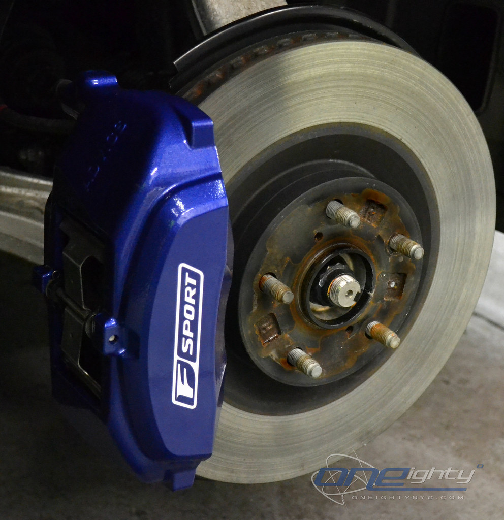 Lexus GS350 Blue Calipers Lexus GS 350 Calipers
