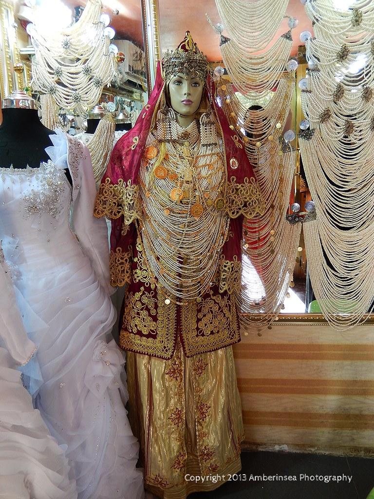 Tlemcen - Algeria - Traditional wedding dress   All pearls h…   Flickr