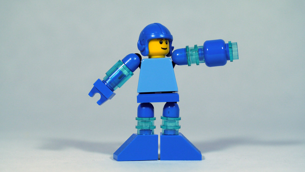 Lego Mega Man See How To Build Him Www Youtube Com