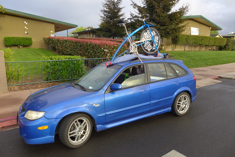 What kind of vehicle should I use to transport the Pro frame