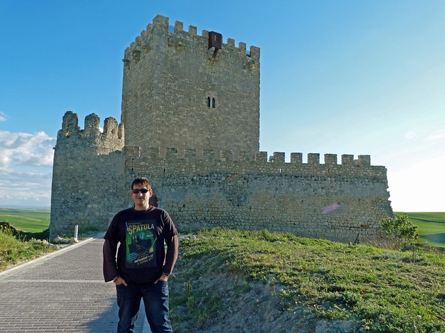 Sele en el castillo de Tiedra (Valladolid)