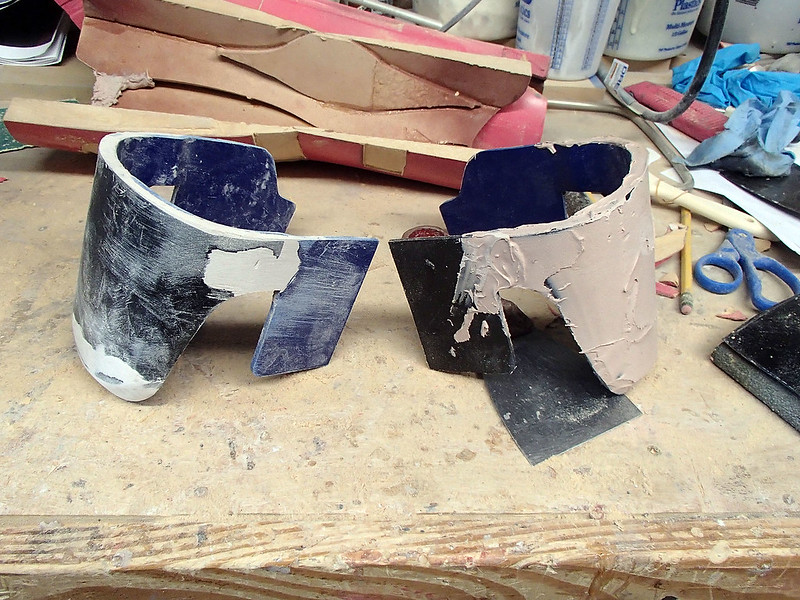 Kneepads in Progress