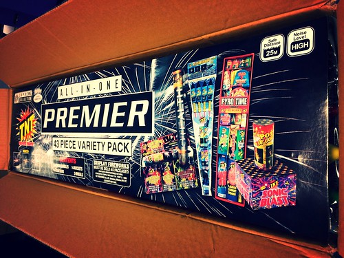£50 ASDA PRICE - Premier Party Pack by TNT Fireworks
