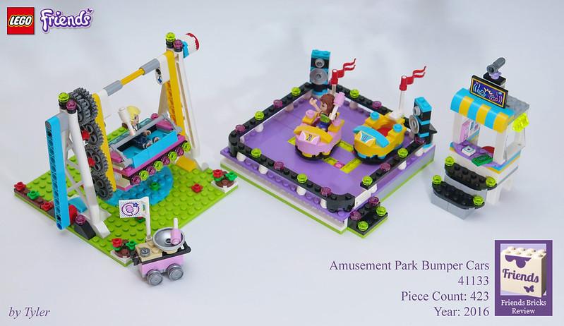 lego friends amusement park instructions