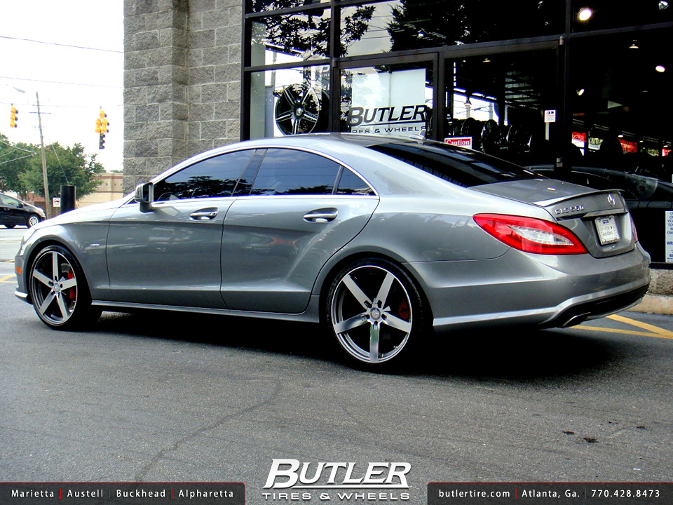 Mercedes Cls550 With 20in Mandrus Arrow Wheels