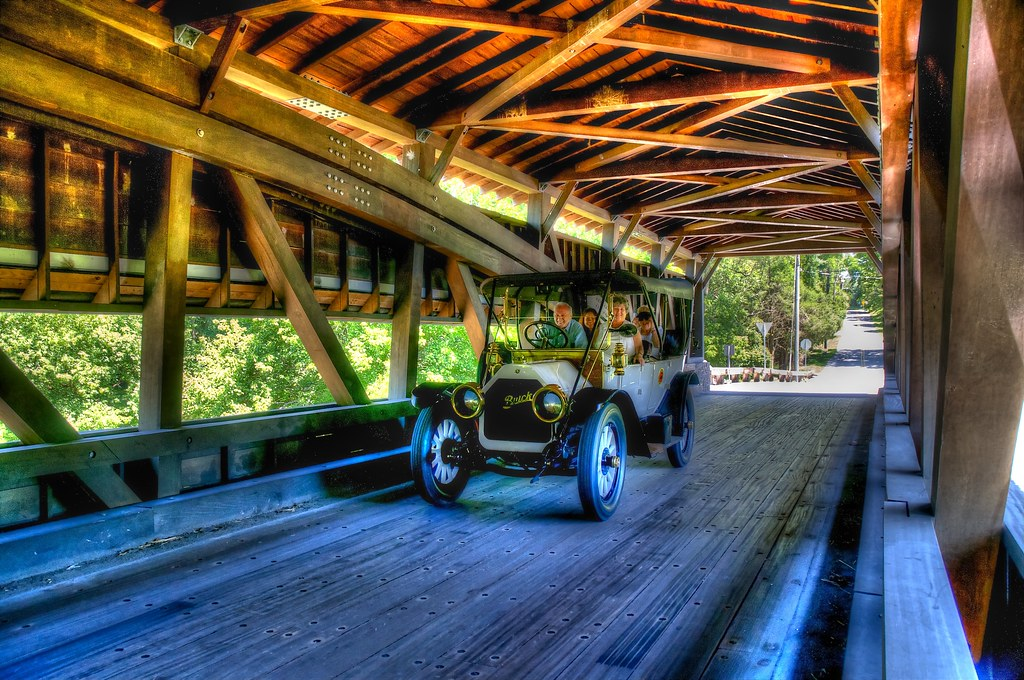 Buick on the Bridge | Winterthur, Delaware, USA Sometimes ...