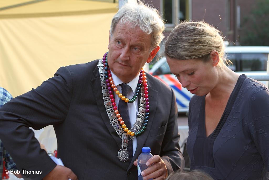 Eberhard Van Der Laan Met Zijn Vrouw Femke Bij Het 'From R