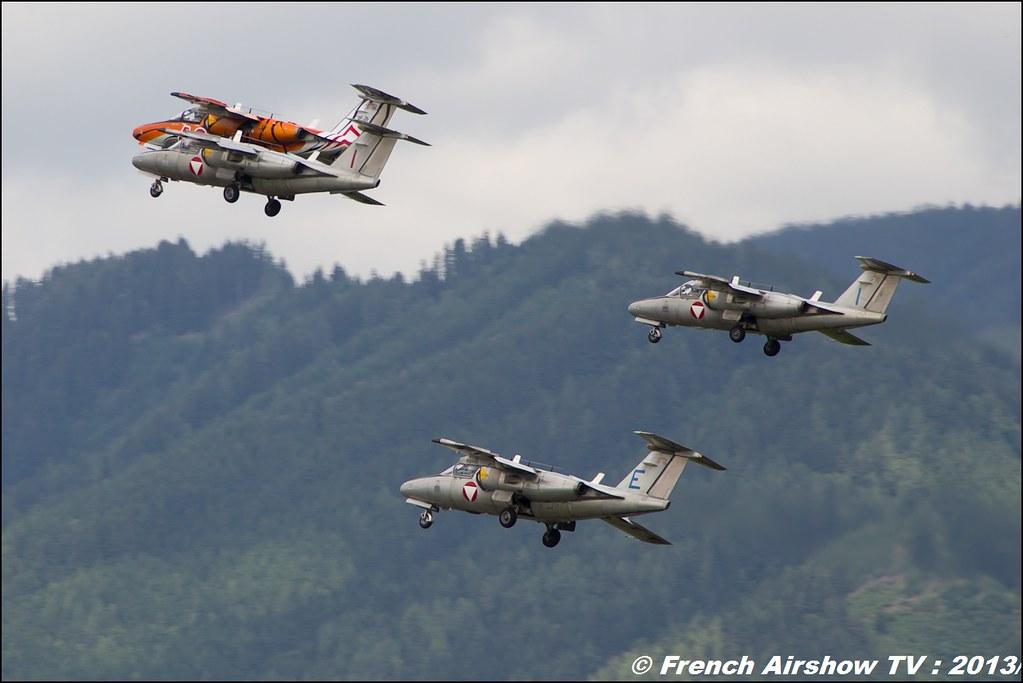 Team Saab J 105 OE , AIRPOWER13 , Zeltweg , Austria , airpower 2013 Zeltweg