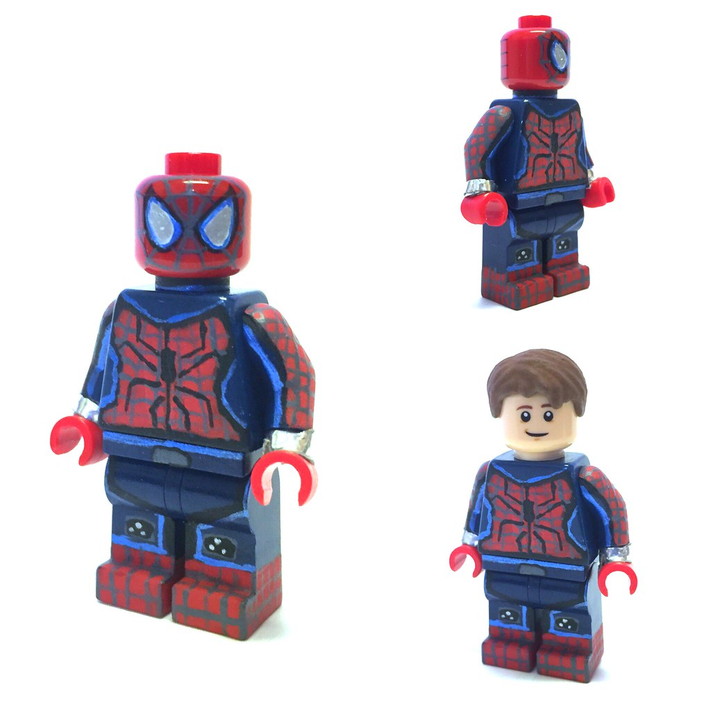 Custom lego spider man please comment if you fave first of flickr - Lego spiderman 2 ...