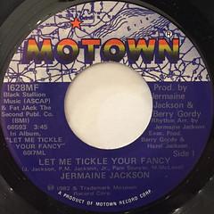 JERMAINE JACKSON:LET ME TICKLE YOUR FANCY(LABEL SIDE-A)