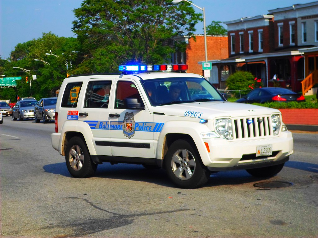 Baltimore City Police Department: 2009 Jeep Liberty (KK-mo ...