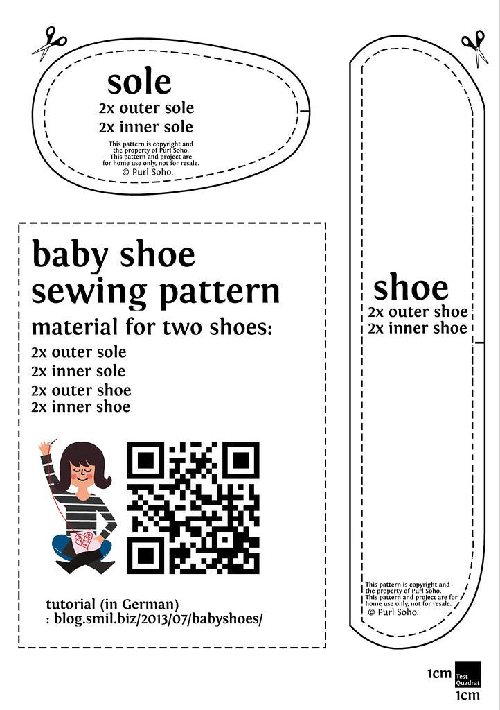 Baby Shoe Sewing Pattern Free