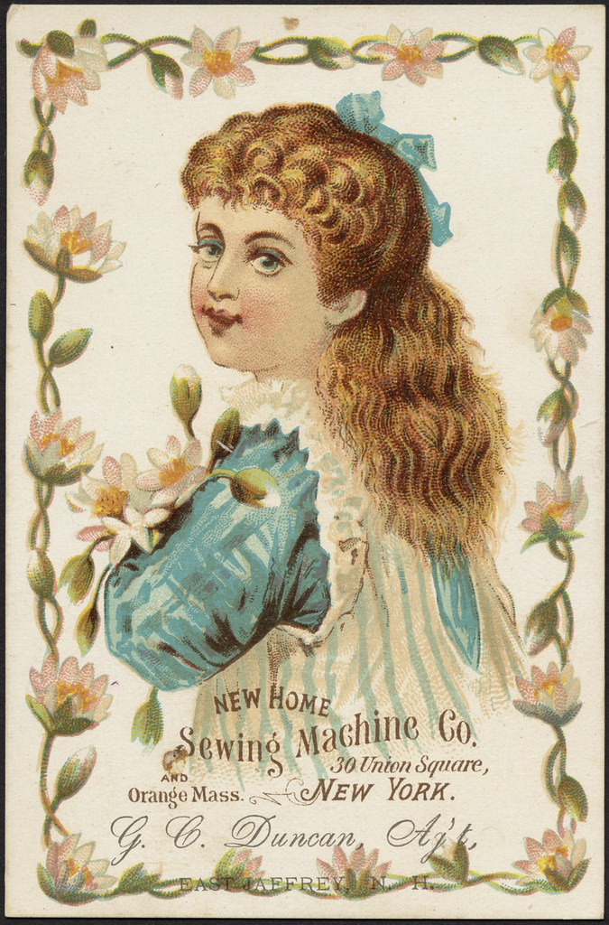 New home sewing machine co 30 union square new york and for Flowers union square nyc
