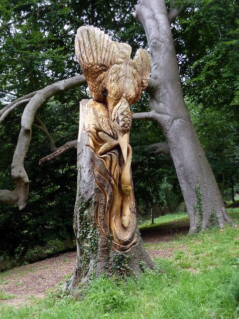 Tree carvings knaresborough flickr photo sharing